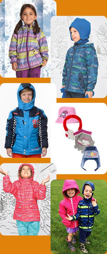 Верхняя весенняя и осенняя одежда для детей