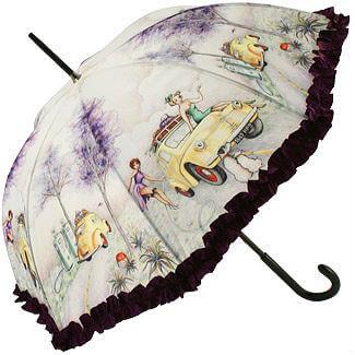 Прелестный женский зонт от солнца