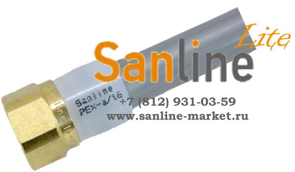 Кольцо обжимное с упором Sanline Lite 16мм