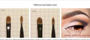 Кисти для макияжа какая для чего нужна разбор по рабочим зонам
