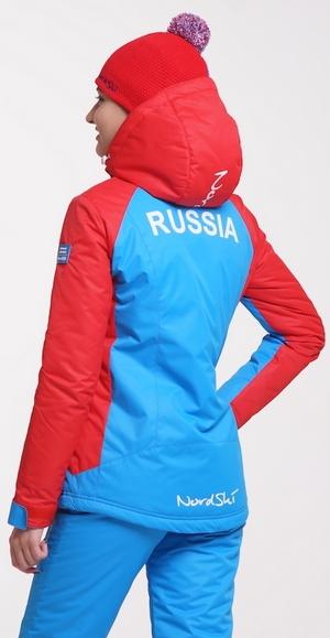 NSW120780 Утеплённая прогулочная лыжная куртка Nordski Premium Aquamarine женская