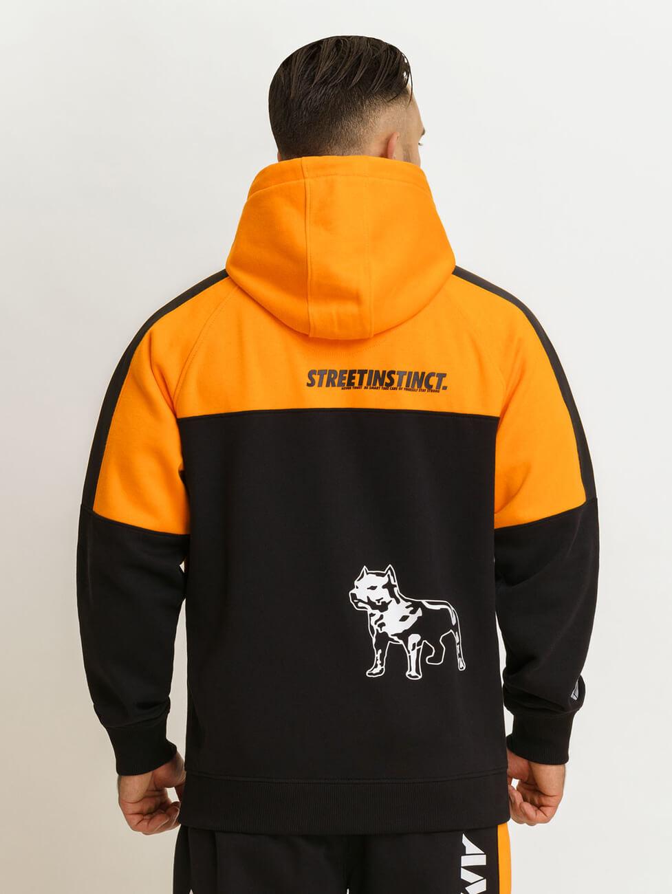 Спортивные костюмы черно оранжевые Amstaff Dozer orange