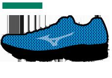 Технология кроссовок Mizuno - Airmesh