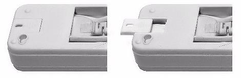 В аккумуляторном светодиодном светильнике KL-90 предусмотрены специальные выдвижные пазы для крепления на плоскую поверхность