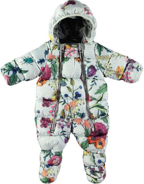Детский комбинезон Molo Hebe Flower Embroidery (Molo Зима 2018-2019)