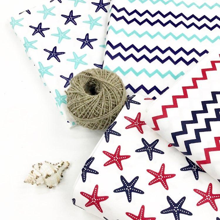 Купить ткань в морском стиле