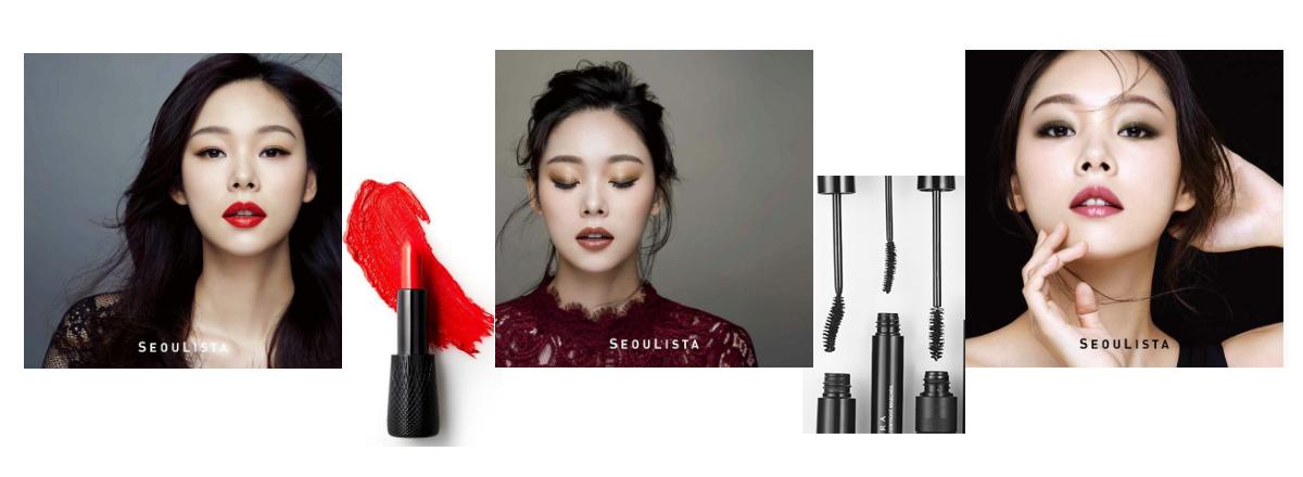Раздел корейской декоративной косметики