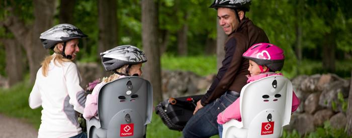 Детские велосипедные кресла Hamax