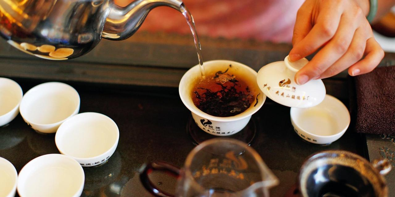 как заваривать чай Да Хун Пао