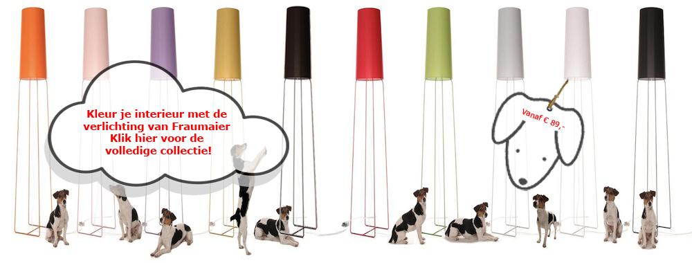 """На сайте компании сказано следующее: """"Кто такая FrauMaier? Появившаяся на свет в небольшой немецкой деревушке Esslingen недалеко от Штутгарта и живущая с Felix Severin Mack. FrauMaier достигла вершины успеха, возможно, как самая примечательная собака в области дизайна. За время работы она добилась того, что ее продукция поставляется более чем в 250 магазинов во многих странах, причем география все время расширяется""""."""