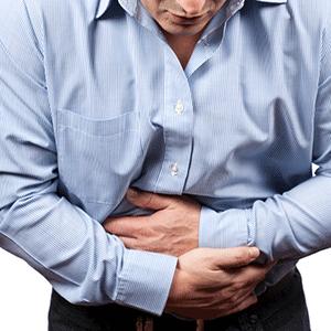 Боль в низу живота, очевидный симптом простатита.