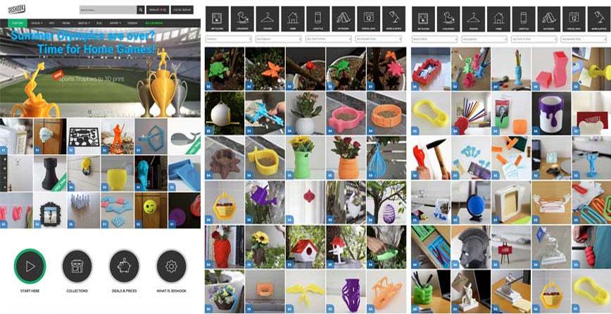3DShock модели для 3D принтера