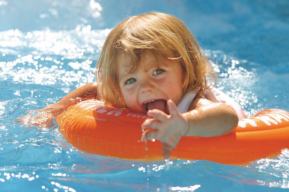 Надувной круг Swimtrainer для детей от 2 до 6 лет