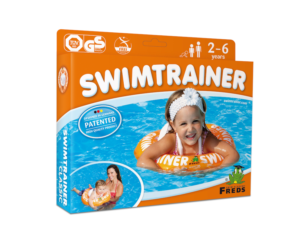 Круг для купания Swimtrainer оранжевый