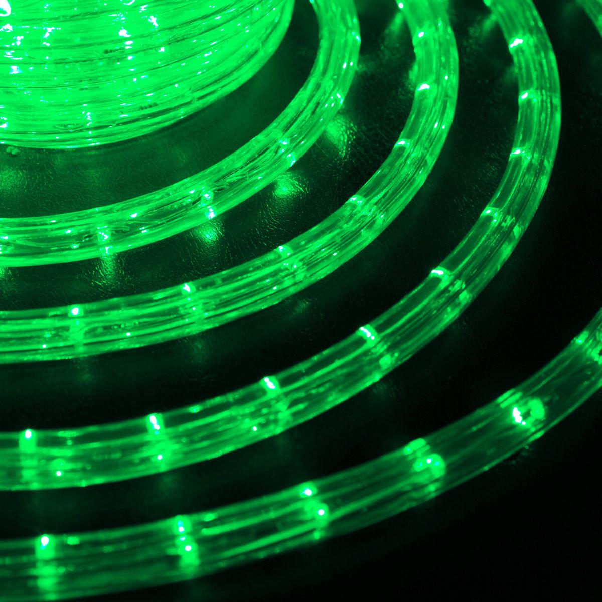 LED 10 метров готового набора шланга дюралайт 10 метров зеленый цвет вилка коннектор сетевой