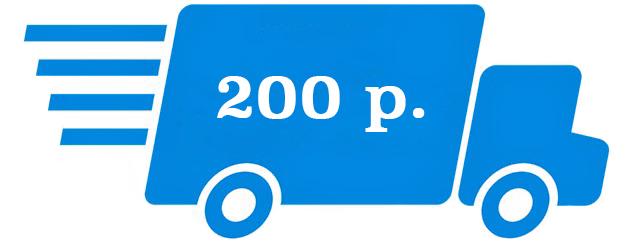 Доставка в Москве 200 рублей