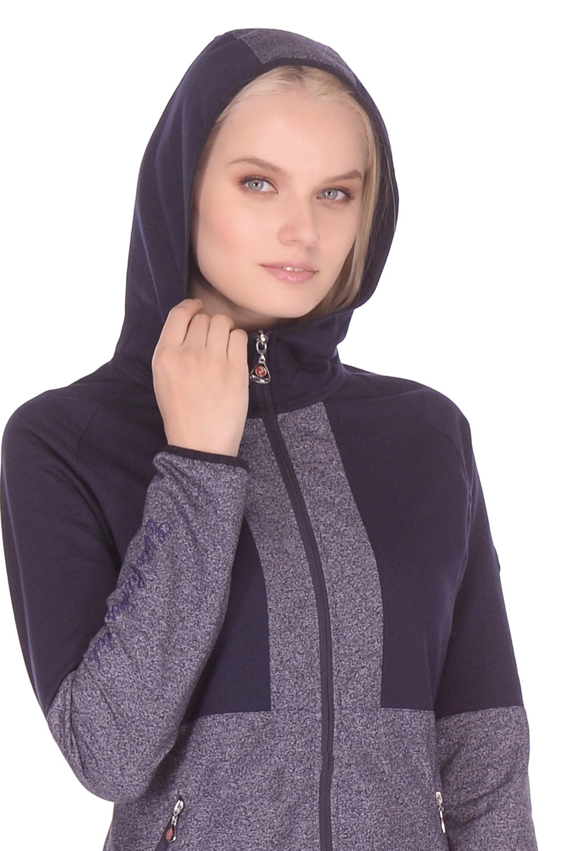 серый спортивный костюм женский с капюшоном