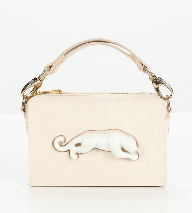 купите эффектную сумочку Rectangular Panther Bag от ANDRES GALLARDO