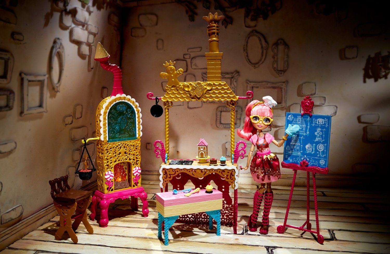 Кухня Джинджер Брэдхаус, Эвер Афтер Хай. Игровой набор с куклой
