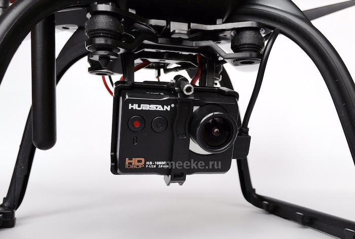 HD камера квадрокоптера H109S