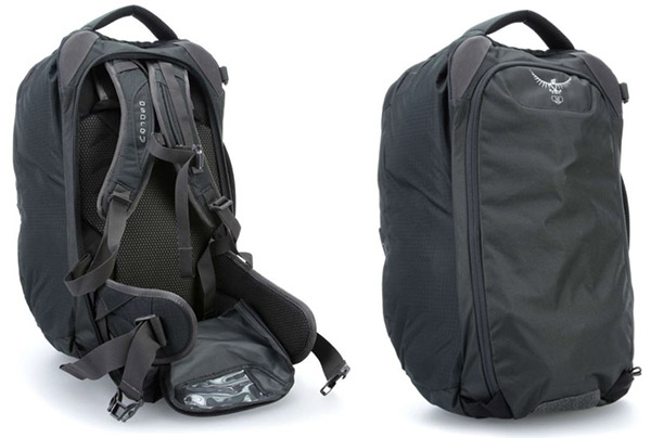 Как скрыть лямки у рюкзака Osprey Farpoint 40