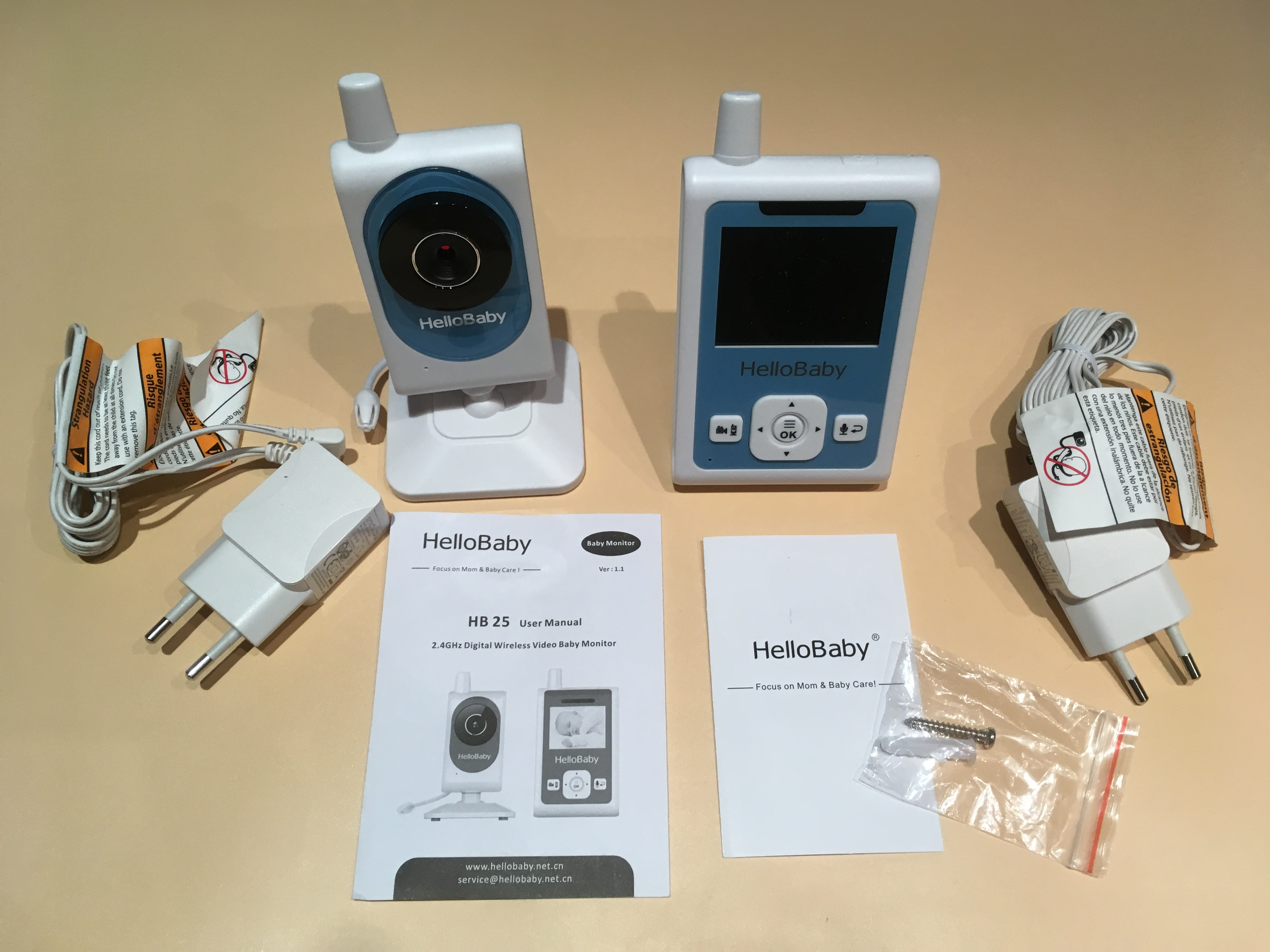 Видеоняня Hello Baby HB25 купить