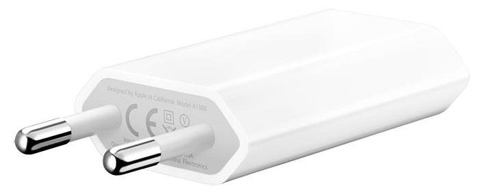 Apple USB Power Adapter MD813ZM/A - Адаптер питания мощностью 5 Вт, 1000 мАч.