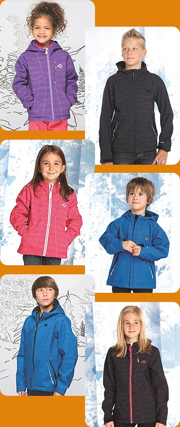 Софтшелл одежда для детей