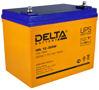 Необслуживаемый свинцово-кислотный аккумулятор Delta HRL-W на 75 Ah