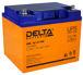 Необслуживаемый свинцово-кислотный аккумулятор Delta HRL-W на 45 Ah