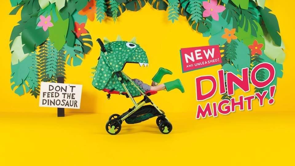 Прогулочная коляска Cosatto Woosh Dino Mighty купить в интернет-магазине Мама Любит!
