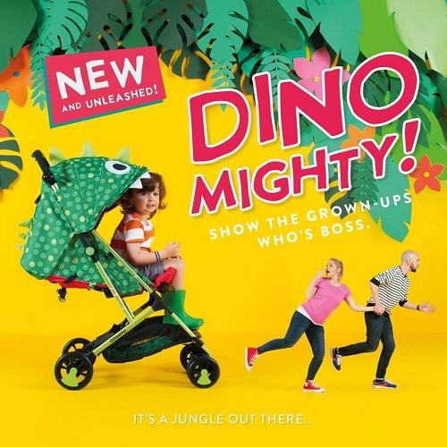 Купить прогулочную коляску Cosatto Woosh Dino Mighty в интернет-магазине Мама Любит!