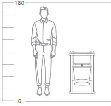 подкатной столик фаворит висан размеры
