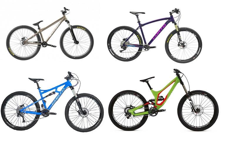 Типы велосипеда