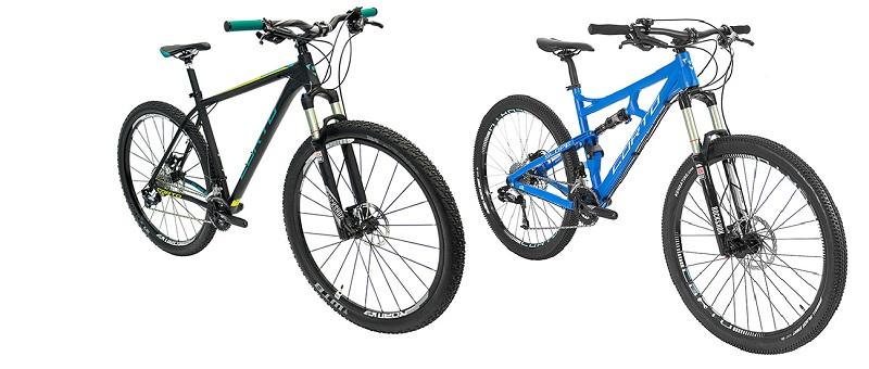типы рамы велосипеда
