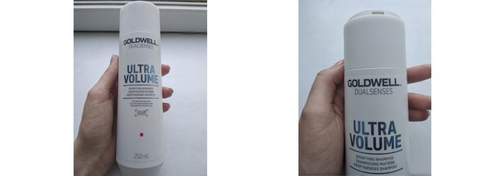 Фотообзор на Шампунь для ультра-объема Goldwell Dualsenses