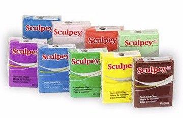 Полимерная глина SCULPEY