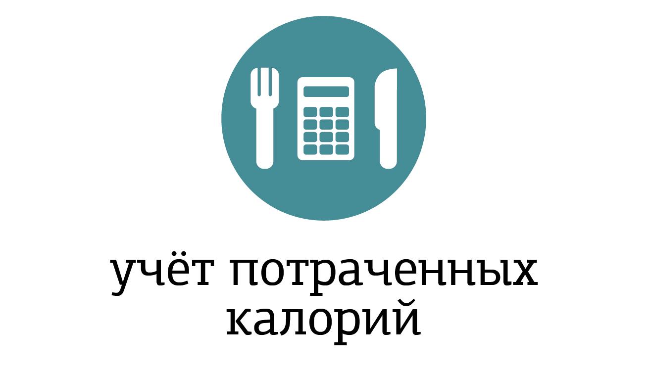 Учёт потраченных калорий