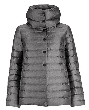 Короткая женская пуховая куртка Йоутсен