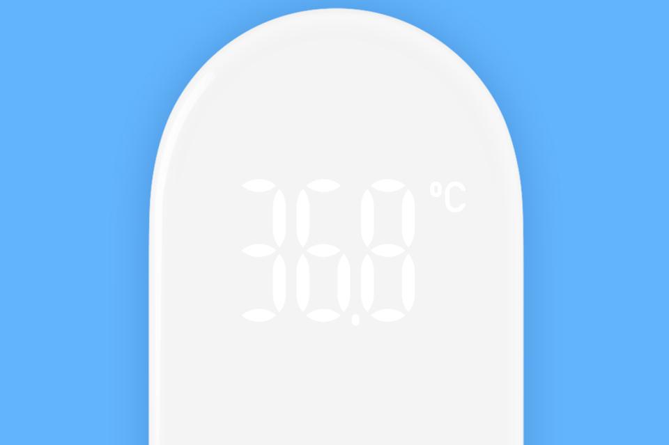 Бесконтактный термометр MiJia iHealth дисплей устройства