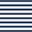 Белый в синюю полоску