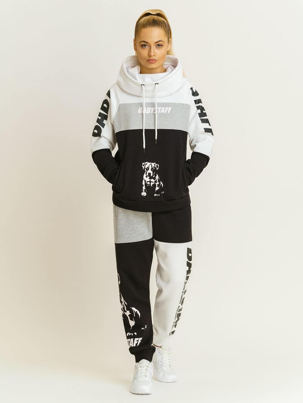 Стильные модные спортивные костюмы женские Babystaff Aruna white