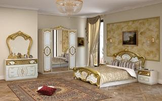 РОЗА вайт Мебель для спальни
