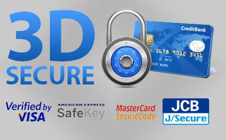 3D-Secure помогает защититься от мошенников как продавцам, так и покупателям