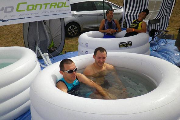 Ледяные ванны для бегунов Whitegold fitness
