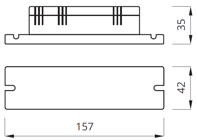 Размер конверсионного модуля (conversion kit) LIDER PLUS AUTOTEST