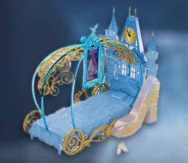 Спальня для Золушки в виде кареты