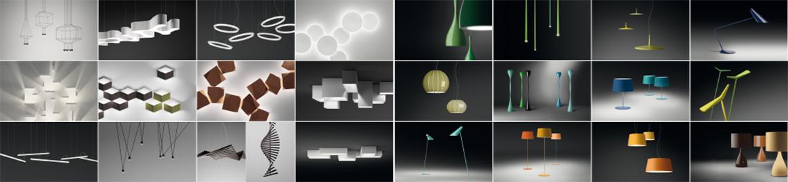 Дизайнерские светильники в интерьере от Vibia