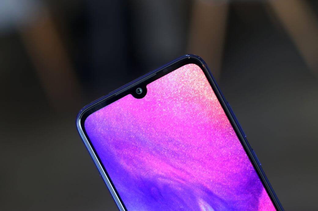 Xiaomi Redmi 7 камера фронтальная