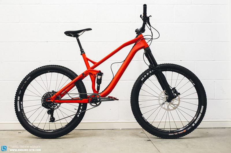 Неправильно собранный велосипед